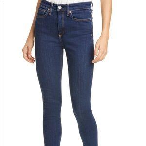 Rag & Bone Mid Rise Skinny Jeans 27